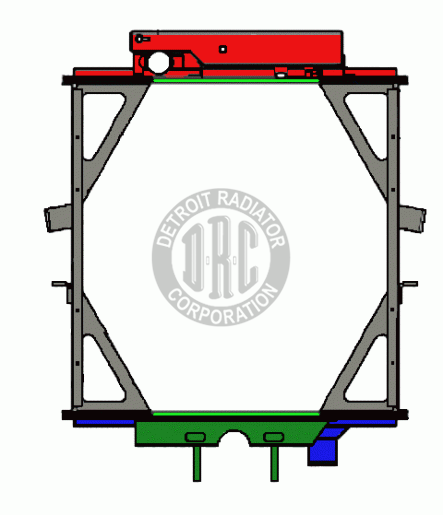 Detroit radiator corporation heavy duty truck radiators radiator do it yourself radiator kit solutioingenieria Choice Image