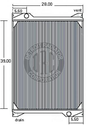 kenworth w900 radiator