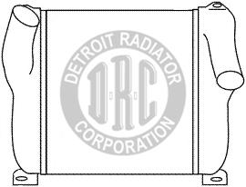Detroit Radiator Corporation Heavy Duty Truck Radiators, Radiator